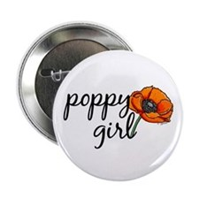 Poppy girl Button