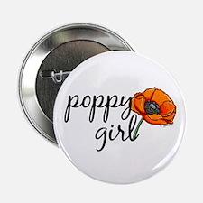 Poppy girl Button