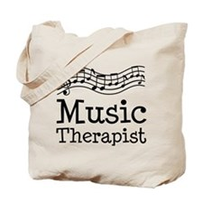 Music Therapist Tote Bag