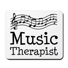 Music Therapist Mousepad