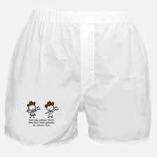 Saint Luke Boxer Shorts