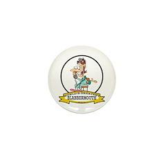 WORLDS GREATEST BLABBERMOUTH WOMEN Mini Button (10