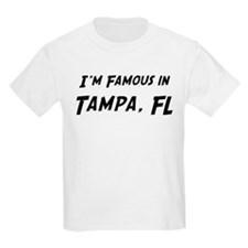 Famous in Tampa Kids T-Shirt