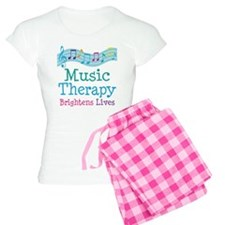 Music Therapy Colorful Women's Light Pajamas