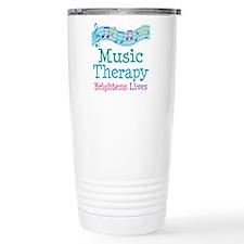 Music Therapy Colorful Travel Mug