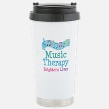 Music Therapy Colorful Travel Mug