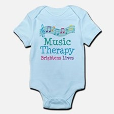 Music Therapy Colorful Infant Bodysuit