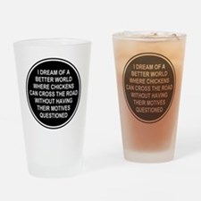 Cool Travel Drinking Glass