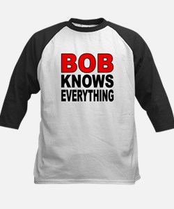 BOB KNOWS Baseball Jersey