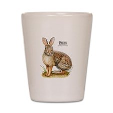 Brush Rabbit Shot Glass