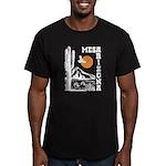 Mesa Arizona Men's Fitted T-Shirt (dark)