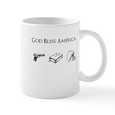 God Bless America: Guns, God Mug