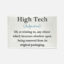High Tech Definition Rectangle Magnet