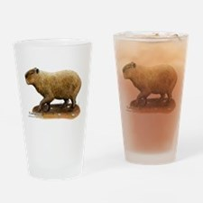 Capybara Drinking Glass