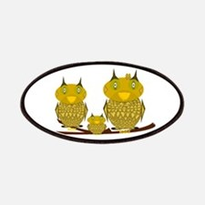 Family of Owls Patches