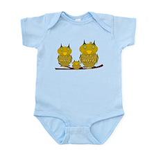 Family of Owls Infant Bodysuit