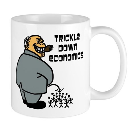 """Trickle Down"" Mug"