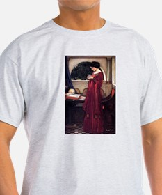 Crystal Ball magic lady Waterhouse painting T-Shir
