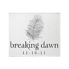 Twilight Breaking Dawn Feathe Throw Blanket