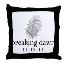 Twilight Breaking Dawn Feathe Throw Pillow