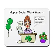 Social Work Month Desk2 Mousepad