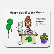 Social Work Month Desk2 Mousepad