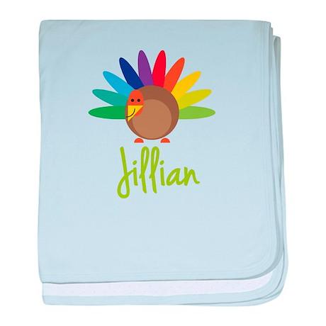 Jillian the Turkey baby blanket