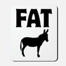 Fat Ass (Donkey) Mousepad