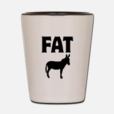 Fat Ass (Donkey) Shot Glass