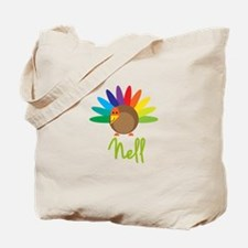 Nell the Turkey Tote Bag