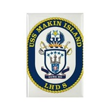 LHD 8 USS Makin Island Rectangle Magnet