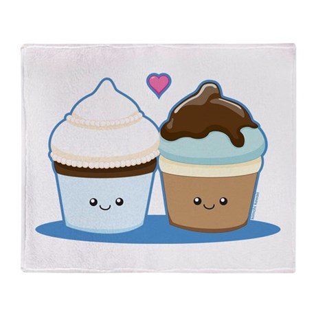 Wedding Cupcakes Throw Blanket