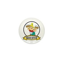WORLDS GREATEST BEER BITCH Mini Button (10 pack)