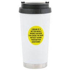 Cute Baking Travel Mug