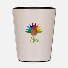 Alisa the Turkey Shot Glass