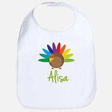 Alisa the Turkey Bib