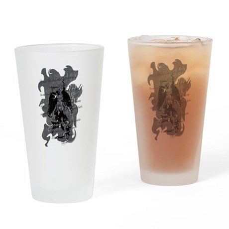 St. Michael: Protection Drinking Glass