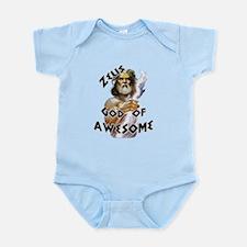 Zeus God of Awesome Infant Bodysuit