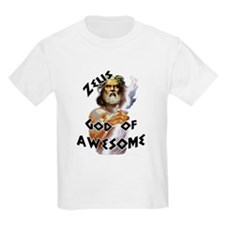 Zeus God of Awesome T-Shirt