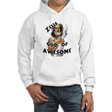 Zeus God of Awesome Hoodie