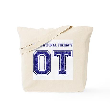 Team OT (Navy) - Tote Bag