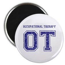 Team OT (Navy) - Magnet