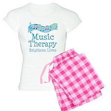 Music Therapy Colorful Women's Light Pajamas