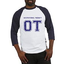 Team OT (Navy) - Baseball Jersey
