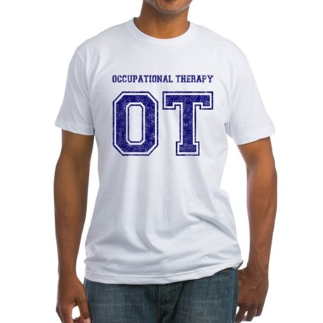 Team OT (Navy) - Fitted T-Shirt