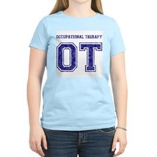 Team OT (Navy) - Women's Pink T-Shirt