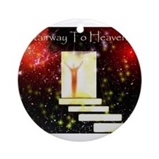 Jmcks Stairway To Heaven Ornament (Round)