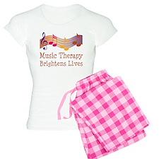 Music Therapy Quote Women's Light Pajamas