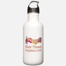 Music Therapy Quote Sports Water Bottle