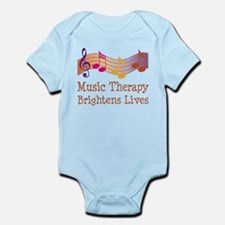 Music Therapy Quote Infant Bodysuit
